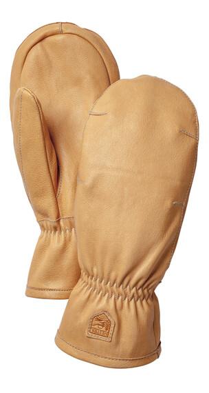 Hestra Veg Goat Wool - mitt Naturbrun (700)